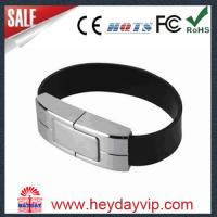 Buy cheap Leather Wristband USB Flash Drive,leather bracelet usb,leather bracelet usb flash disk from wholesalers