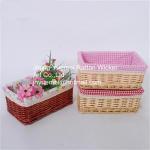 Buy cheap wicker baskets willow baskets storage baskets Cheristmas basket from wholesalers