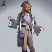 Buy cheap Jack Sparrow Lfiesize Wax Portrait product