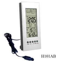 Buy cheap Digital thermometers H101AB for Indoor temperature & humidity and  outdoor temperature product