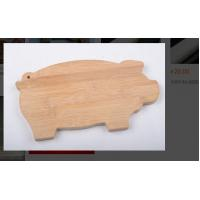 Buy cheap Bamboo Small Plastic Chopping Board Animal Shaped With Customized Logo Color from wholesalers