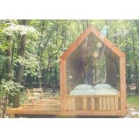 Buy cheap Energy Saving Prefab Garden Studio Prefab Wooden House For Holiday Living from wholesalers