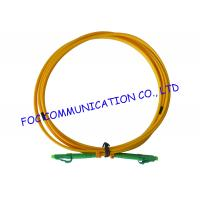 Buy cheap LC / APC fiber patch cord Duplex G.657A2 Corning Fiber Bend Insensitive from wholesalers