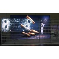 Light Transparent LED Display Screen , Wide Viewing Angle Transparent Digital Display