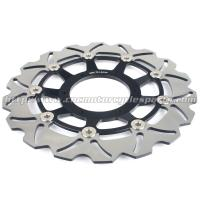 Buy cheap 296mm Front Motorcycle Brake Disc Rotors CB900F 2002-2006 For Honda Parts product