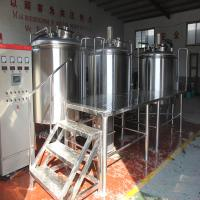 Buy cheap Hot sale CE TUV certification 1000L beer brewing equipment steam heating from wholesalers