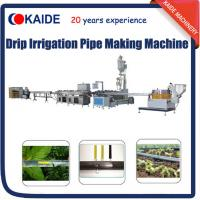 Buy cheap PE Inline Flat Drip Irrigation Tape Production Line/Making Machine/Extrusion Machine Line from wholesalers
