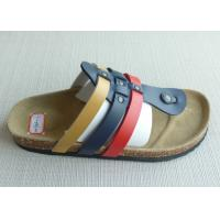 Buy cheap Popular PU Upper Thong Men Cork Sandals ,  Home / Outdoor Comfortable from wholesalers