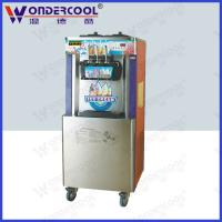 Buy cheap 52L Commercial colorful floor standing soft serve best ice cream vending machine from wholesalers