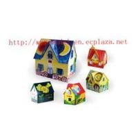 """Colorful Sunshine"" Wood House"