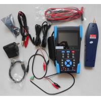 Buy cheap 3.5 TFT-LCD CCTV IP Camera Tester , Optical Power Meter , TDR Test , Digital Multimeter from wholesalers