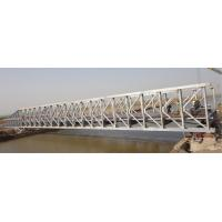 Buy cheap Custom Permanent Steel Structure Bridge Steel Deck With Good Stability from wholesalers