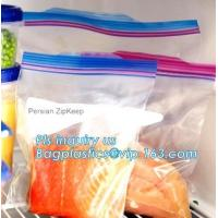 Buy cheap double track reclosable zip lock bag, double-track zipper closure, slide seal reclosable poly bags, package double track from wholesalers