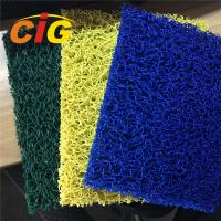 Buy cheap Looping Yarn Solid Color 100% PVC Flooring Carpet By Rolls / Pieces 11mm Thick from wholesalers
