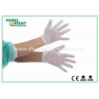 Buy cheap Economic Machine Knitted Seamless Nylon Glove Disposable 40D Lightweight from wholesalers