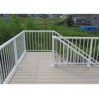 Buy cheap High Performance Exterior Aluminum Stair Railings Corrosion Resistance For Balcony from wholesalers