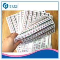 Buy cheap Hot Stamping Custom Printed Self Adhesive Labels For Packaging / Shelf from wholesalers