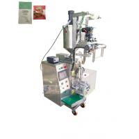 Buy cheap 3 / 4 Side Sealing Sauce Pouch Packing Machine For Tomato Sauce Fruit Jam from wholesalers