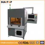 Buy cheap 20W fiber laser marking machine metal laser marking machine safety standard from wholesalers