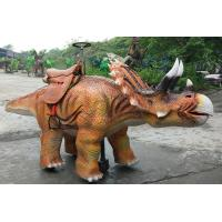 Buy cheap Amusement Park Animatronic Walking Dinosaur Rides For Kids And Adults from wholesalers