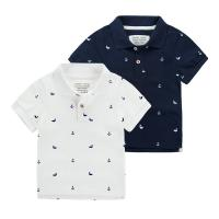 Buy cheap cotton Polo t shirts short sleeve boys girls infents babies kids childrens safty knit wear from wholesalers