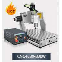 Buy cheap 800w portable USB CNC 3040 300*400mm mini wood, PVC, acrylic,olive kernel 4 axis cnc engraver from wholesalers