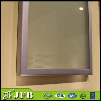 Buy cheap kitchen anodized standard size glass insert profile aluminum cabinet door from wholesalers