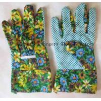 Buy cheap NW-1004P New Printing Design Garden GLove With Band Top Cuff from wholesalers