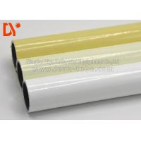Buy cheap Colorful Plastic Coated Steel Tube Lightweight Round Shape For Lean Warehouse Shelves from wholesalers