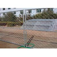 Buy cheap Professional Temporary Chain Link Fence Galvanized Wire ISO9001 CE Listed from wholesalers