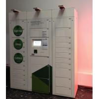 Buy cheap Customized Incorporate Self Payment Parcel Pick Up Locker Kiosk with Barcode Scanner from wholesalers