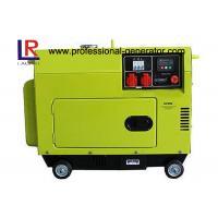 Top Mounted Fuel Tank Diesel Generator 5KW Portable Low Operating Temperature