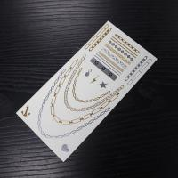 Buy cheap metallic body temporary tattoo sticker from wholesalers