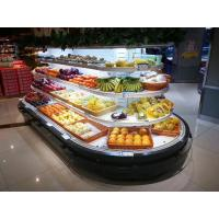 Buy cheap SASO/CE/CB Island Refrigerator Fruit and Vegetable Display Fridge Supermarket Open Chiller from wholesalers