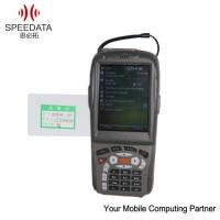 Buy cheap Android 1d Laser Portable Data Collection Terminal QR Bacode Scanner Bus Ticketing Machines BT from wholesalers
