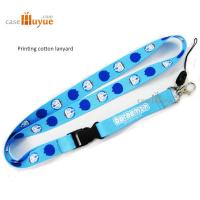 Buy cheap Japanese Polyester Lanyard Heated Transfer Printing Lanyard Doraemon Sublimation Lanyard from wholesalers