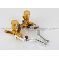 Buy cheap 7/8 Motorcycle Brake Clutch Lever Master Cylinder Fluid Reservoir Levers Hand Control from wholesalers