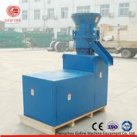Buy cheap Cow Feed Pellet Mill Machine Flat Die Type Dry Processing Energy Saving from wholesalers