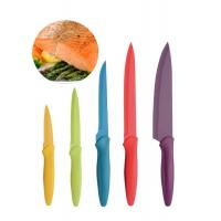 Buy cheap PP Handle Chef Knife Set NON Stick Blade , Five Piece Premium Kitchen Knives product