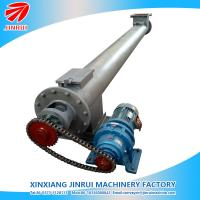 Buy cheap carbon steel small screw conveyor auger feeder for powder pellet product
