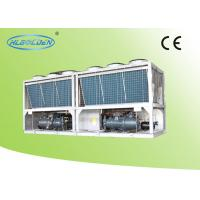 Buy cheap Evaporator Air Cooled Screw Chiller , Anti-corrosion Air Cooled Liquid Chillers from wholesalers