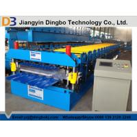 Buy cheap 0.8~1.2mm Thickness metal roof roll forming machine , roofing sheet roll forming machine from wholesalers