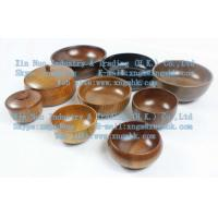 Buy cheap Large wooden bowls, wooden bowl, wooden rice bowl, wooden bowl, wooden bowls of children from wholesalers