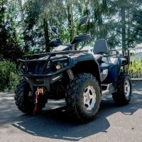 Buy cheap Single Cylinder Four Wheel ATV 400cc 4 Wheeler Quads With 4*4 F/R Independent Suspension from wholesalers