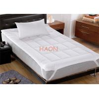 Buy cheap White Hotel Mattress Protector European Standard 100% cotton 11090 thread from wholesalers