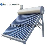 Buy cheap 200L Open Loop Non Pressurized Solar Water Heater With Anticorrosive PVDF Coating from wholesalers