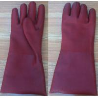 Buy cheap Rough pvc coated ,sandy  finished gloves product