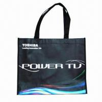 Buy cheap Promotional Laminated PP Nonwoven/Woven Shopping Bag with Glossy or Matte Lamination product