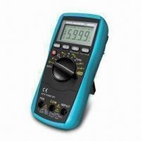 China LCD Digital Multimeter with 5999 Maximum Reading, Over-range Indication and Relative Measurement on sale