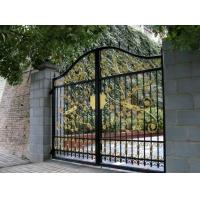 Buy cheap Custom Design Wrought Iron Fence Gate Waterproof Environmentally Friendly from wholesalers